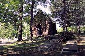 schattigen Kapelle