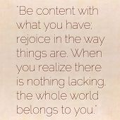 Inspirational quote by Lao Tzu (ancient Taoist philosopher of the 6th century BCE) on earthy backgro