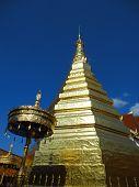 Golden pagoda, Phrathat Chohae