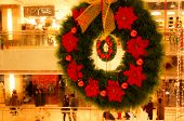 Christmas Wreaths In Shopping Mall Gurgaon