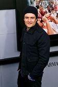 NEW YORK-DEC 17: Actor Orlando Bloom attends the premiere of