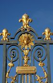 foto of versaille  - France golden gate of the Versailles palace