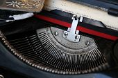 foto of time machine  - Old typewriter machine - JPG