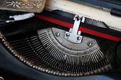 pic of time machine  - Old typewriter machine - JPG