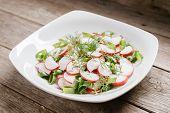 Healthy Radish Salad