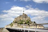 image of michel  - Abbey of Mont Saint Michel - JPG