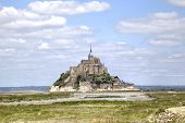 stock photo of michel  - Abbey of Mont Saint Michel - JPG