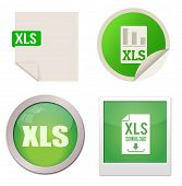 Xls Icon Set