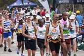 Many Spectators And Runners At Comrades Marathon