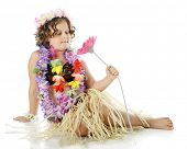 stock photo of hula dancer  - An elementary  - JPG
