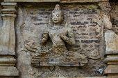Art on Stupa.