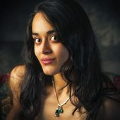 Portrait Of A Beautiful, Young South Asian Woman