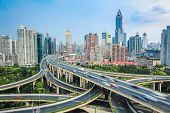 Shanghai Elevated Road  Junction