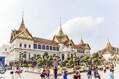 Chakri Maha Prasat In The Great Palace In Bangkok
