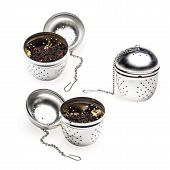 Metallic Tea Strainer Infuser