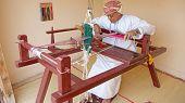 Omani Weaver