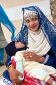 Omani Woman and Baby