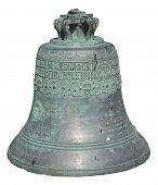Retro Bell Isolated