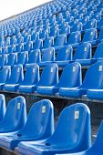 Seats In The Stadium To Support Groups