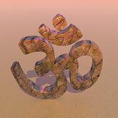 Zen aum - 3D render