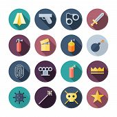 Flat Design Miscellaneous Icons