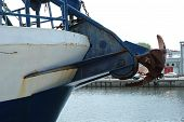 Anchor On Ship's Bow