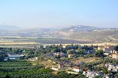 Metula Village Landscape, Israel