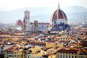 Florence Cathedral Panoramic View, Firenze, Tuscany, Italy