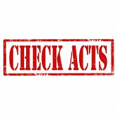 Check Acts-stamp