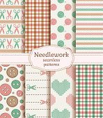Needlework Seamless Patterns