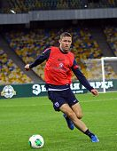 Gary Cahill Of England