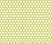 picture of graphene  - Yellow Monoatomic Graphene Sheet on white background - JPG