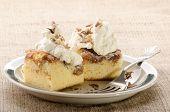 Apple Cinnamon Cake On A Plate