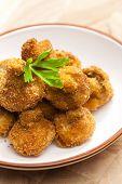 fried champignons