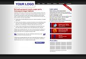 Corporate Website or Blog Template