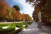 Buen Retiro Park, Paseo de la Argentina