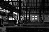 Old Abandoned Train Station