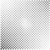 Gray Halftone Dots