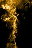 Golden smoke