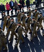 Poland Soldiers Parade