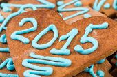 2015 Number On Cookie