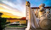sculptural group of Bratislava castle