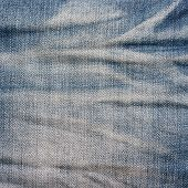 Jeans Texture With Fade And Striped.