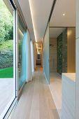 minimal, interior, hallway