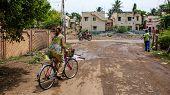 Cycling In Madurai, India