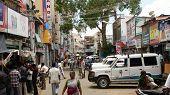 Street Scene In Madurai, India