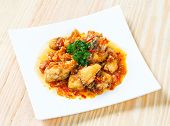 Deep Fried Grouper Fish Spicy Sweet And Sour Sauce