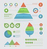 Eco infographic elements.