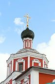 Gate Church Of Saviour In Zachatyevsky Monastery
