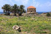 Byblos Archeological Landmark site, Lebanon poster